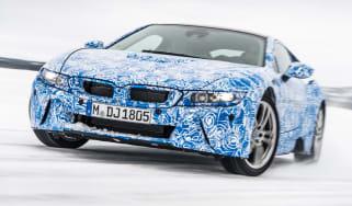 BMW i8 front corner