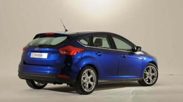 Ford Focus 2014 facelift rear