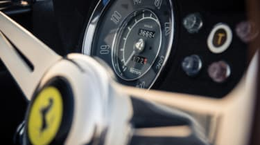 Ferrari 250 GT LWB California Spider Competizione - speedo