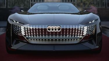 Audi skysphere concept - nose