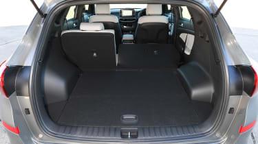 Hyundai Tucson 48v - boot
