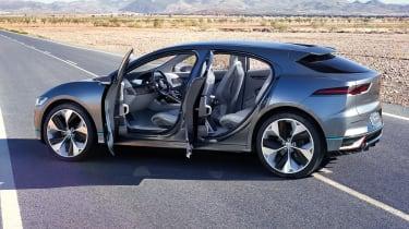 Jaguar I-Pace - doors open