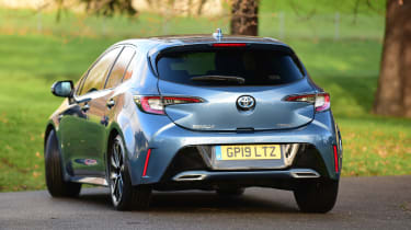Toyota Corolla hybrid Long term - rear