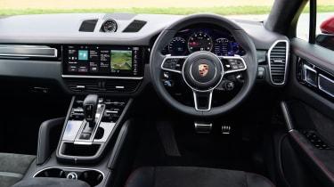 Porsche Cayenne Coupe GTS - interior