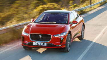 Jaguar I-Pace - front/above