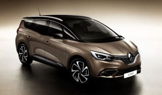 New Renault Grand Scenic 2016 - front quarter