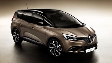 New Renault Grand Scenic 2016 - front quarter