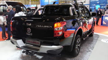 Fiat Fullback pick-up - show rear quarter