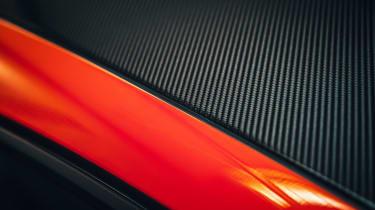 Porsche Cayenne Coupe - carbon fibre roof