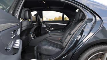 Mercedes S63 AMG 2014 rear seats