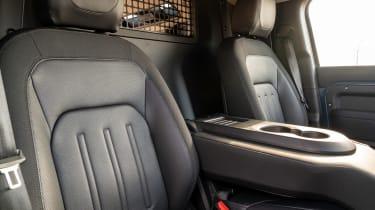Defender Hard Top - centre seat folded