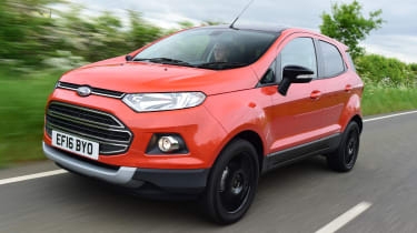 Ford EcoSport Titanium S 2016 - front tracking