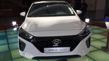 Hyundai Ioniq - Korea front