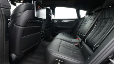 BMW 6 Series GT - rear seats