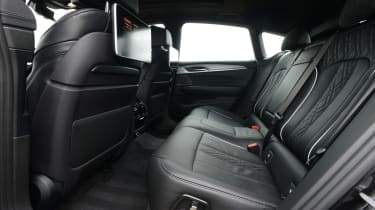 BMW 6 Series GT - rear seats