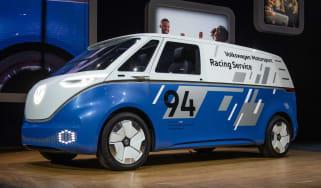 Volkswagen I.D. Buzz Cargo - LA front