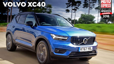 Volvo XC40 - 2018 Small Premium SUV of the Year