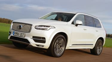 Volvo XC90 long term - front/side