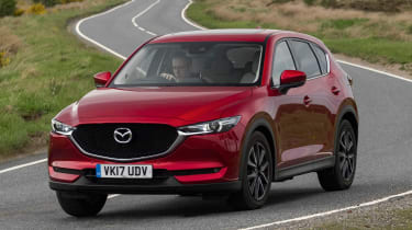 Mazda CX-5 2.0 - front action