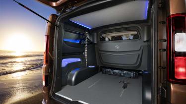 Vauxhall Vivaro Surf Concept - load space