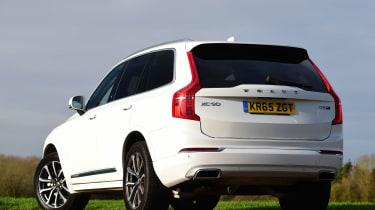 Volvo XC90 - rear static