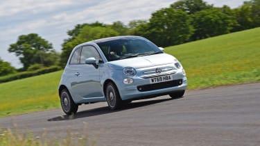 Fiat 500 mild hybrid driving