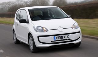 Volkswagen Take up! front tracking