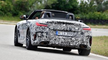 BMW Z4 prototype - rear action