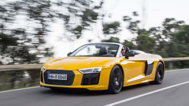 Audi R8 Spyder 2016 - front tracking 2