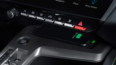 Peugeot 308 - interior buttons