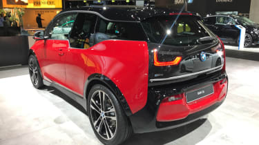 BMW i3s - Frankfurt rear