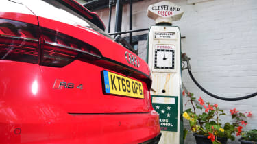 Audi RS 4 Avant long termer second report - fuel
