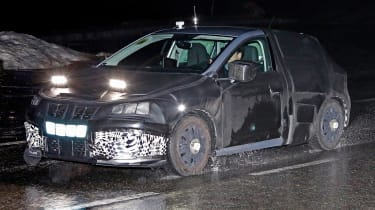 Seat Ibiza 2017 spies side front