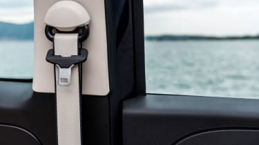 Fiat 500 Riva - seatbelt