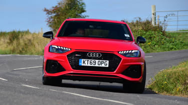 Audi RS 4 Avant long termer first report - front