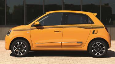 renault twingo facelift static side profile