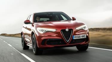 Alfa Romeo Stelvio Quadrifoglio - front action