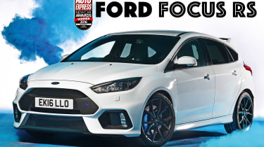 New Car Awards 2016: Hot Hatch of the Year - Ford Focus RS