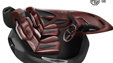 MG GE sketch - interior
