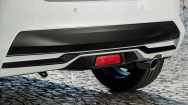 Nissan Micra N-Sport - exhaust