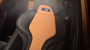 BMW X3M - seat detail