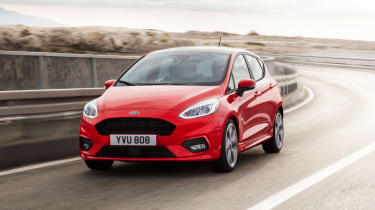 New 2017 Ford Fiesta ST-Line - action