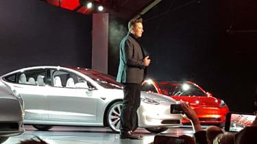 Tesla Model 3 launch Elon Musk