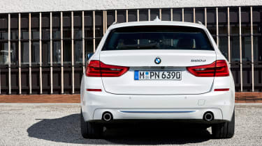 BMW 5 Series Touring - full rear static