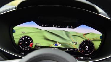 Audi TTS - Virtual Cockpit