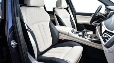BMW X7 - drivers seat