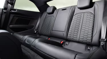 Audi RS 5 - back seats