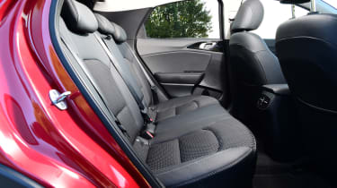 Kia XCeed - rear seats