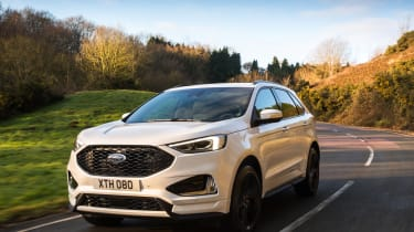 Ford Edge facelift 2018 tracking front