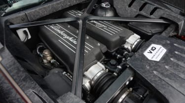 Lamborghini Huracan LP580-2 - engine